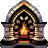Crystal Fireplace 3D Screensaver