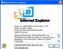 Internet Explorer - About Page