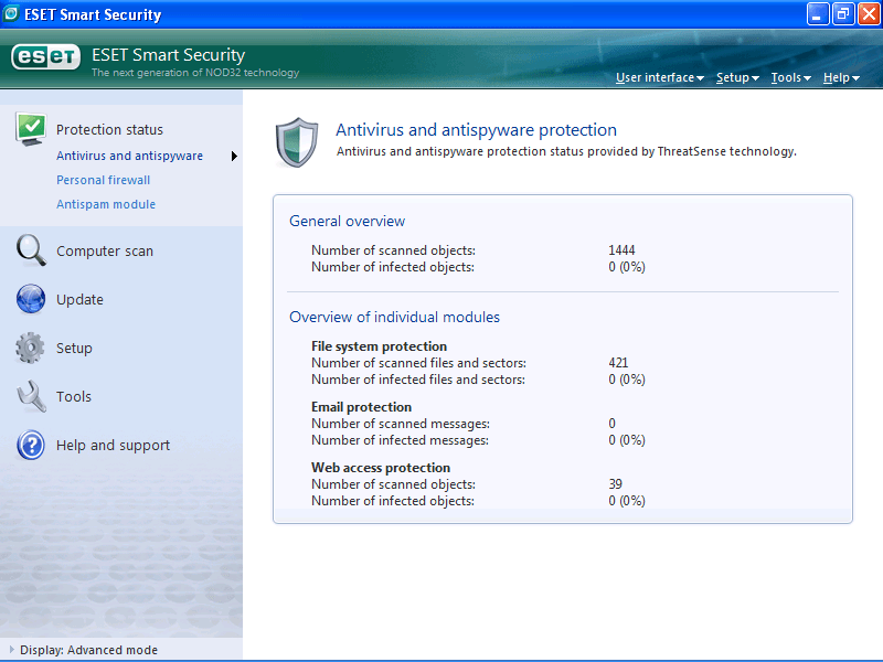 Antivirus and Antispyware