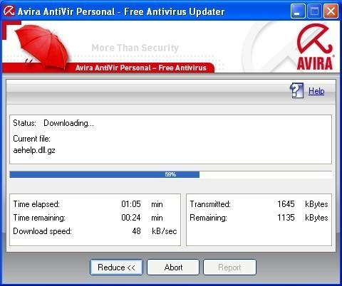 Updating Virus Database