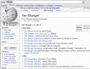Wikipedia consult