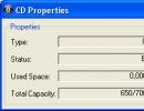 CD properties