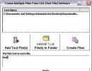 Program interface