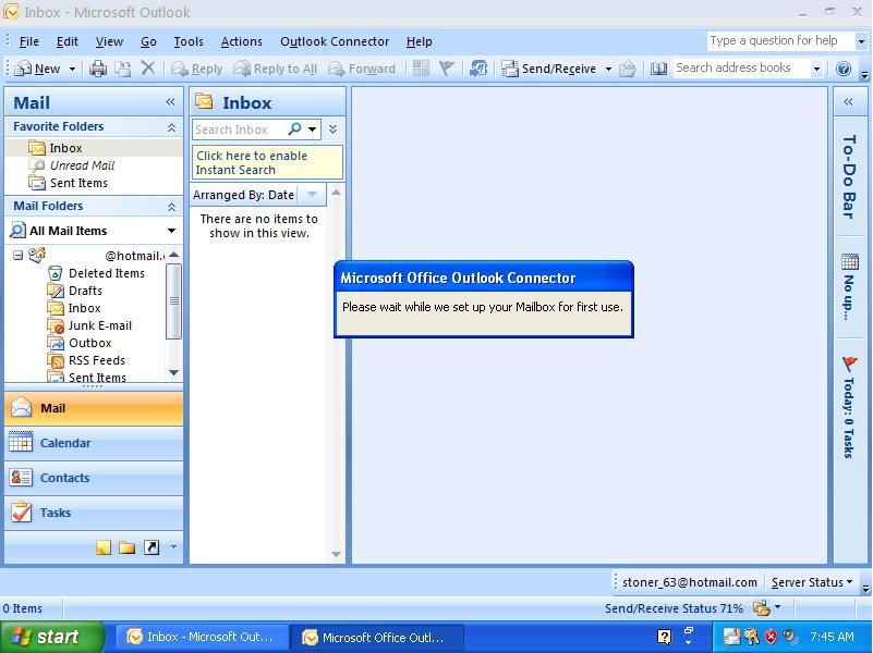 Hotmail on Outlook!