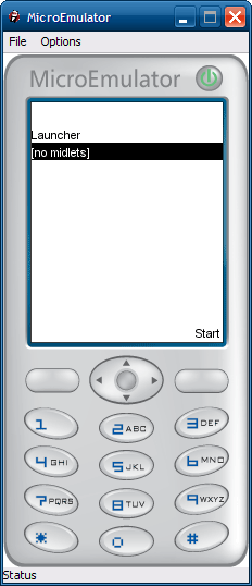 A finished sample application