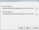 Certificate Generation Tool