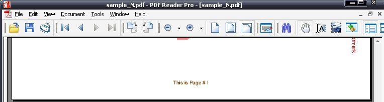 Sample PDF page number added by the program