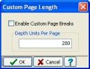 Custom Page Length