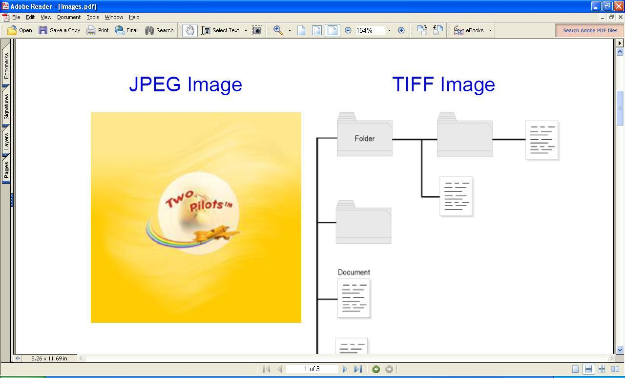 Images in PDF