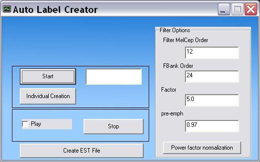 Auto Label Creator