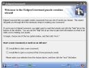 Eclipse Crossword-Startup screen