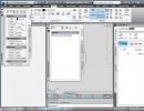 2D drafting workspace