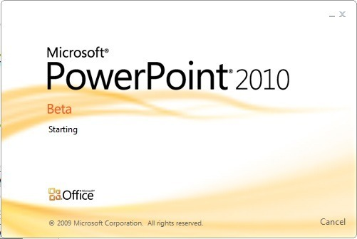 Flash Screen (MS Power Point)