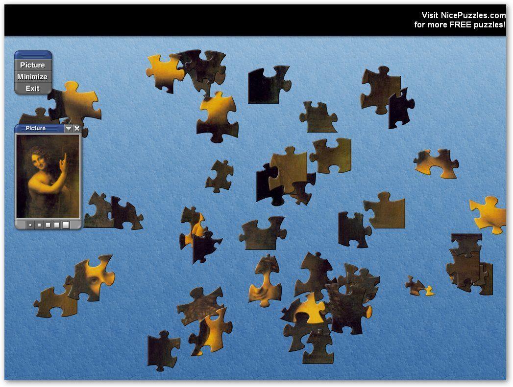 Da VInci Puzzle-Example 1