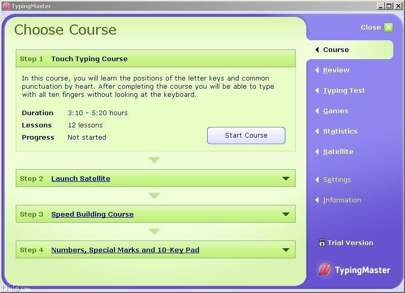 Choose Course