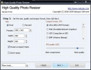 Resolution and output format settings