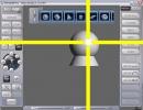 CrossHair on 3D image creator