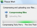Compression and Uploading