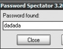 Password found