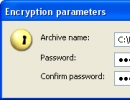 Encryption parameters