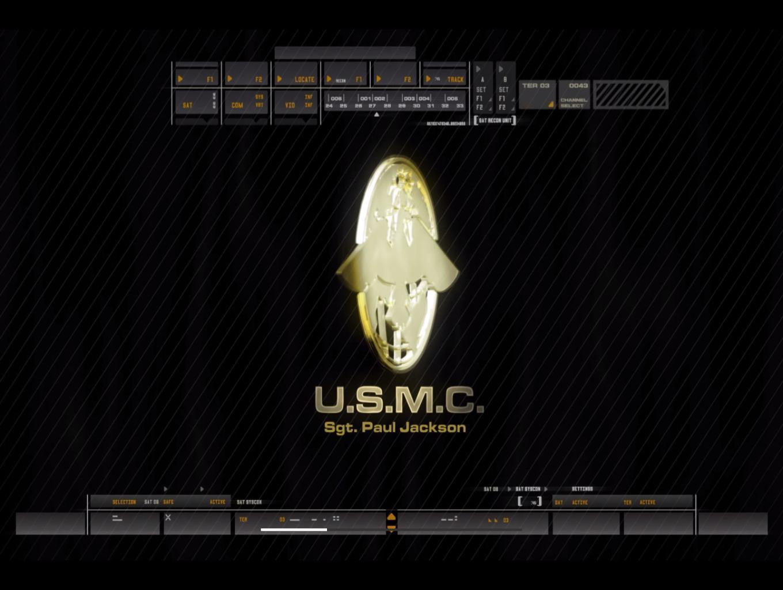 Marine Mission Screen