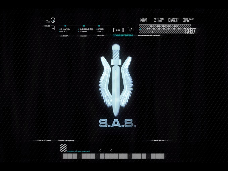 SAS Mission Screen