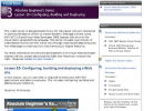 MSDN Web page