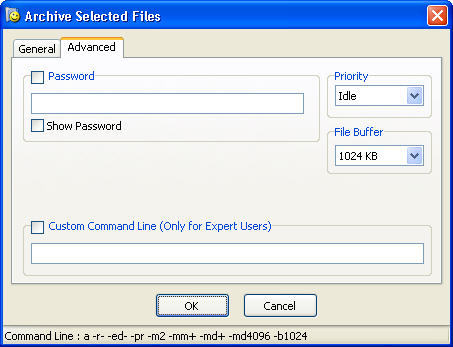 Advanced archiving options