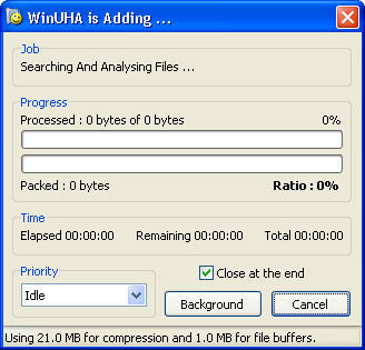 Archiving process