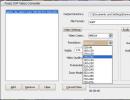 Choosing output video resolution
