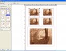 Print Layout Interface
