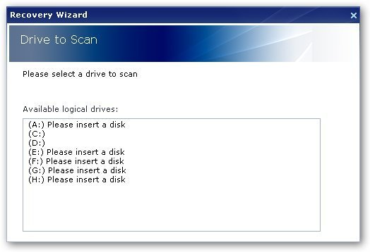 Multi Stage Recovery-Recovery Wizard