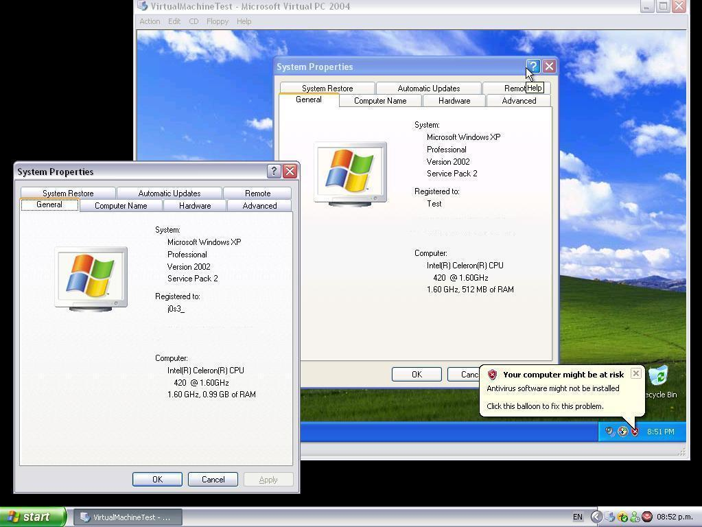 Virtual Machine in Action