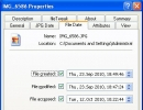 Changing the file creation and modification dates