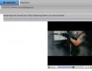 Web server video playback