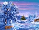 Lovely snowy landscapes