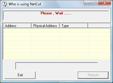Getting a list of users running NetCat
