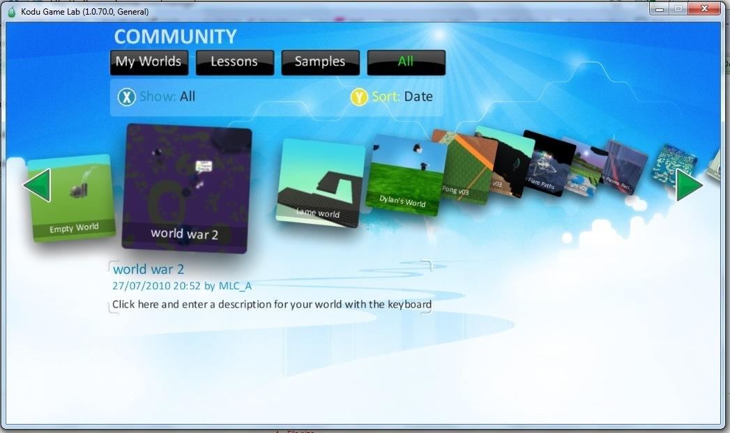 Community World Download
