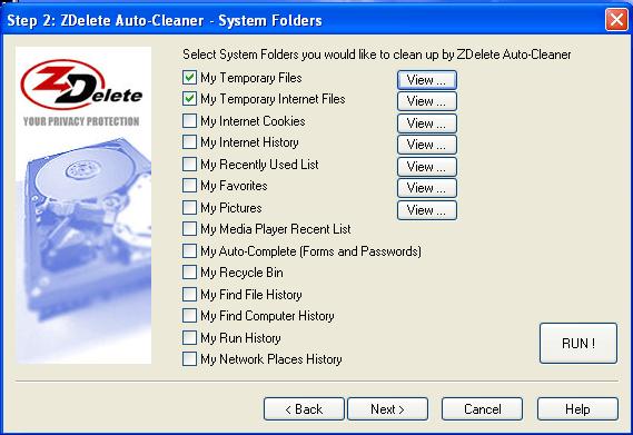 system folders