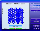 Words puzzle game