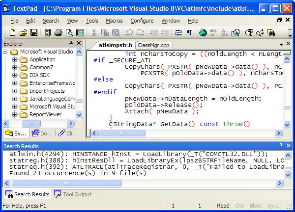 Windows XP look