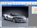Main window and cropping tool