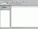 Initial window for creating web page.