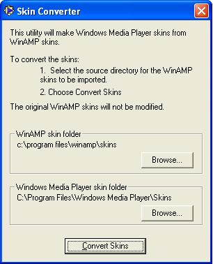 Windows Media Player Skin Importer.