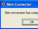 Successful conversion.