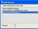 Midi Device Window