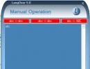 Manual Operation.