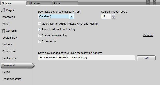 CD Art Display 2.0 Options