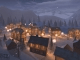 Winter Town 3D Screensaver