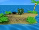 Dino at the Island